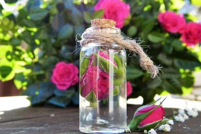 rose water for welder flash