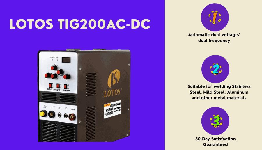 LOTOS TIG200ACDC 200A