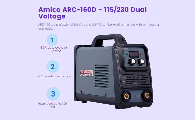 Amico 160 Amp Stick