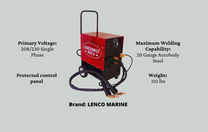 Lenco Spot Welder