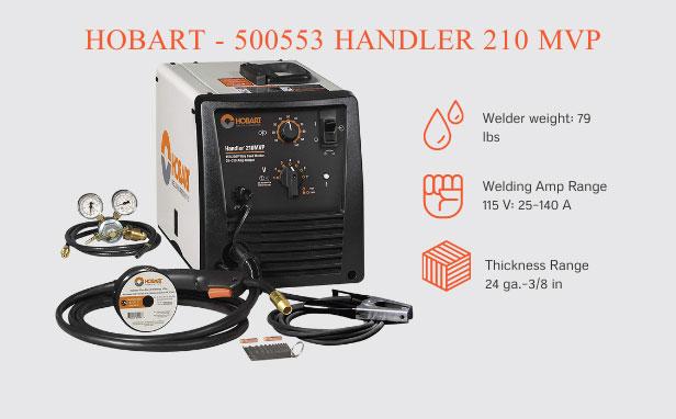 Hobart - 500553 Handler 210 MVP