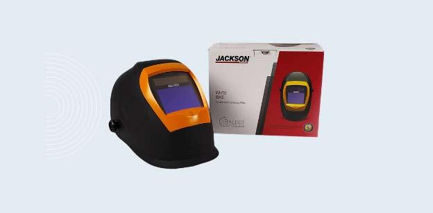 Jackson safety BH3 welding hood with balder technology