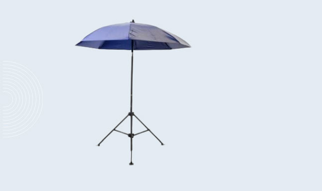 Lapco 160-UM7VB Heavy Duty Umbrella