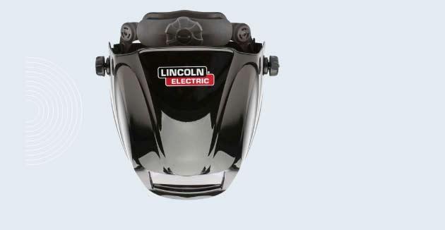 Lincon electronic black 3350 series helmet