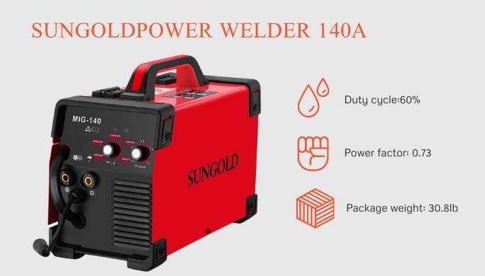 Sungoldpower welding machine
