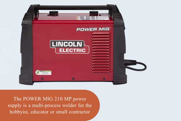Lincoln Electric POWER MIG 210 MP Multi-Process Welder