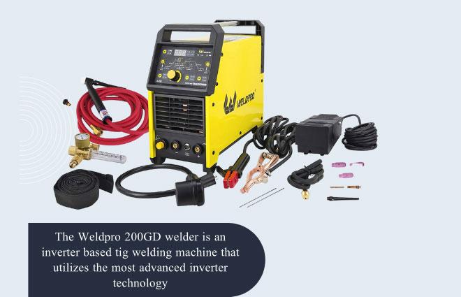 Weldpro Digital TIG 200GD AC/DC 200 Amp