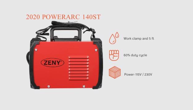 ZENY Arc 160 AMP Dual Voltage Welding Machine